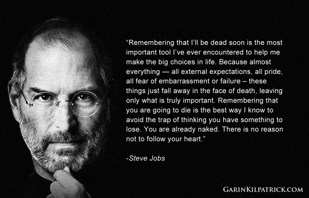 Why we should be inspired by Steve Jobs quotes?