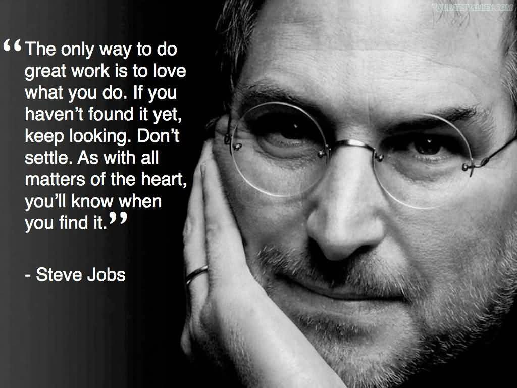 Motivational Steve Jobs's quotes